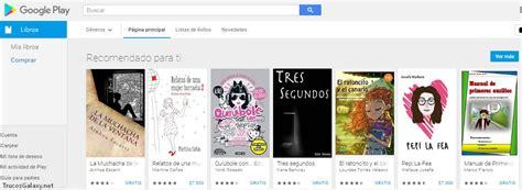 descargar libros para el play books gratis como descargar libros gratis de google play store trucos galaxy