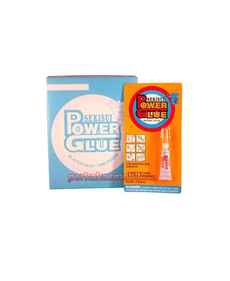 Lem Power Glue Sikisei 3 Gram power glue sekisui 3 gram satuan perkakasmobil