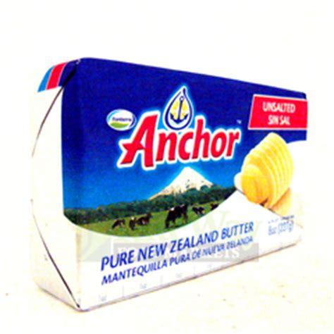 riteway food markets anchor butter unsalted 227g