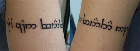 family elvish tattoo elvish tattoos page 2 of 2 contrariwise literary tattoos