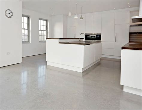 light polished concrete floor home counties quality lazenby