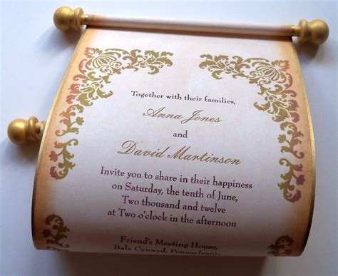 how to make scroll wedding invitations scroll wedding invitations cheap diy review rsvp wedding invitation design royal scroll