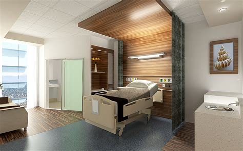 nursing home design trends patient room fabric changed to create tent effect
