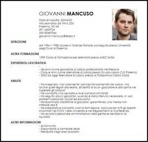 Modello Curriculum Allenatore Di Calcio Livecareer