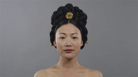 1910s korea joseon binyeo hair makeup style fashion