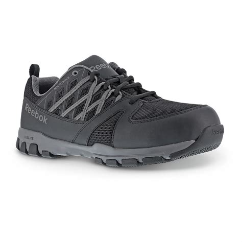 reebok work shoes s reebok sublite static dissipating work shoes