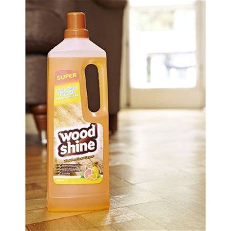wood shine hard floor cleaner