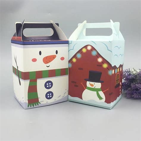 new year gift packaging 10pcs pack gift box apple box wrap