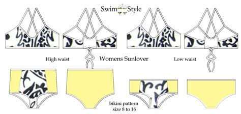swimstyle sewing patterns swim style
