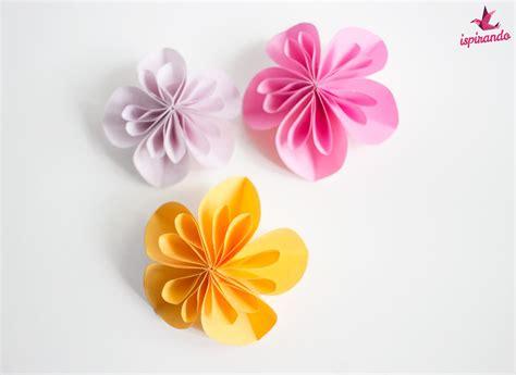 fiori con origami semplici fiori origami fai da te ispirando