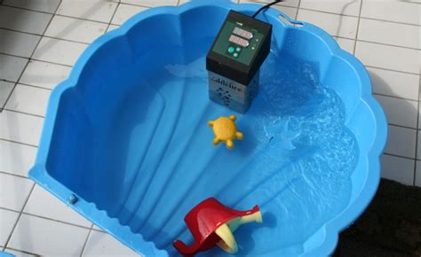 bathtub water warmer heating a baby pool with an immersion circulator yes you
