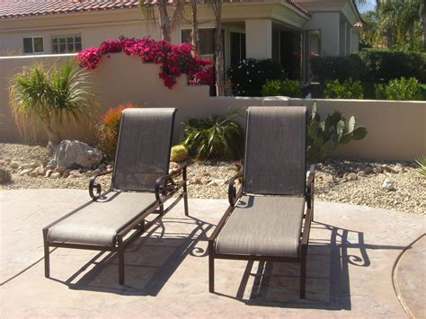 Patio Furniture Cushions Palm Desert Quality Replacement Slings Palm Desert Palm Springs