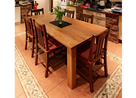 Handmade Kitchen Table - handmade oak kitchen table hugh s photo diary hugh miller