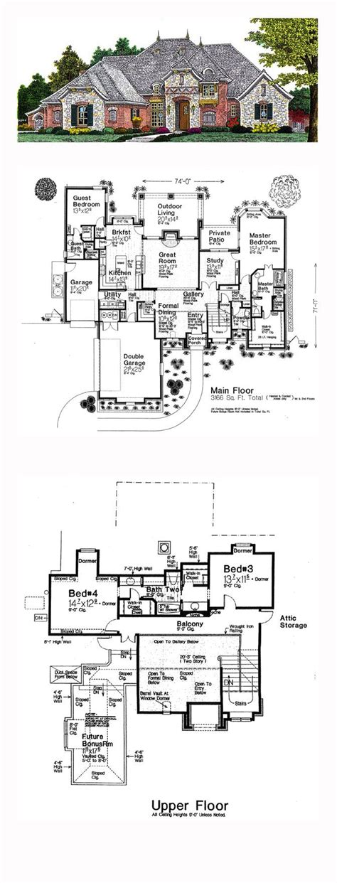 french cottage floor plans country house plans new small french cottage provincial