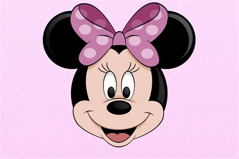 Minnie Mouse by How To Draw Minnie Mouse Lessonpaths