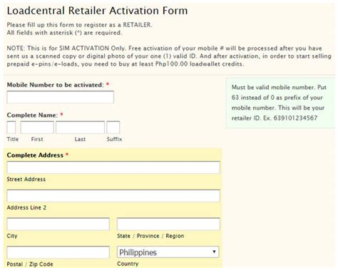 yahoo email registration philippines how to become a loadcentral retailer free registration