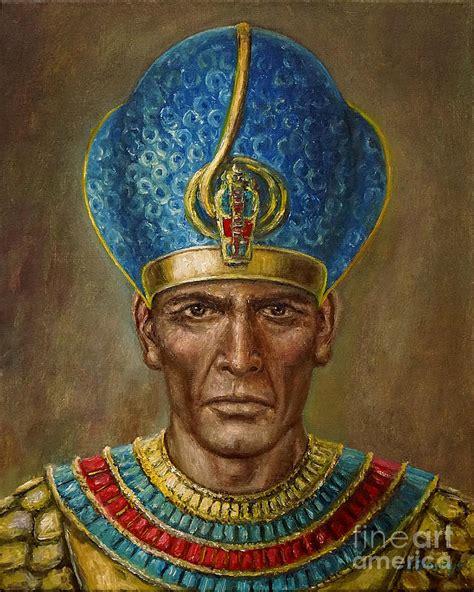 Longsleve Ramses ramses ii painting by arturas slapsys