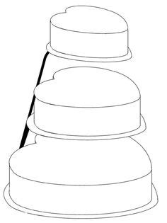 birthday cake template clipart best