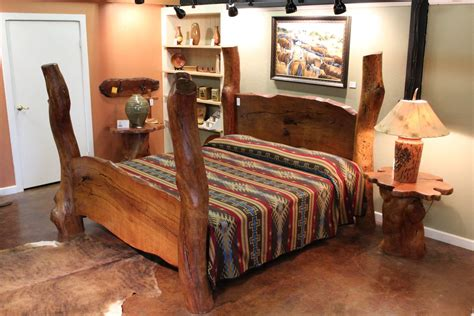 Custom Bed Frames And Headboards Custom Mesquite Bed Frames Lankford S Mesquite Gallery