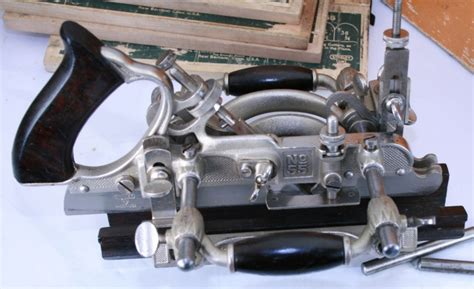 vintage tools stanley   combination plane  sold