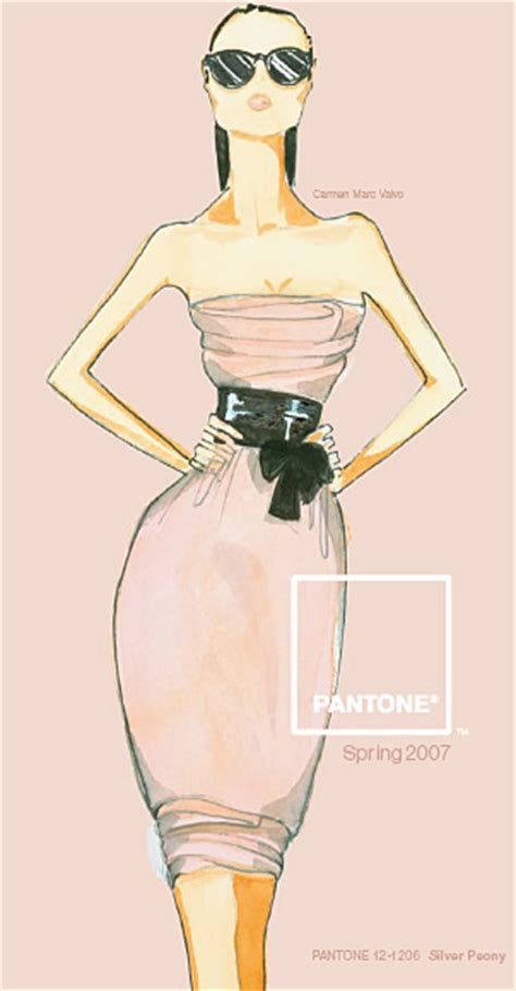 Fashion Week Fall 2007 Pantone Fall 2007 Color Forecast by Pantone Fashion Color Report 2007 Pantone