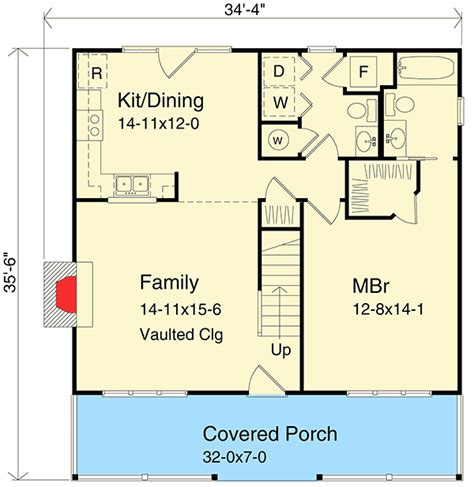 vacation home floor plans two story vacation home plan 2262sl architectural designs house plans