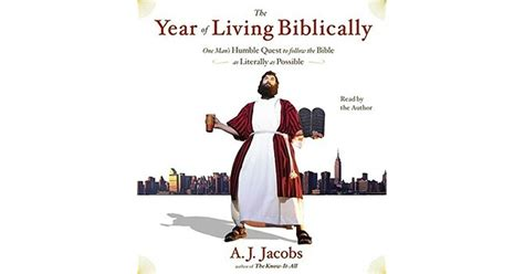Pdf Year Living Biblically Literally Possible by The Year Of Living Biblically One S Humble Quest To