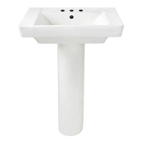 american standard bathroom sink american standard boulevard pedestal combo bathroom sink