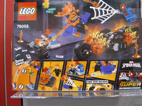 Lego Marvel Heroes 76058 Spidermanghost Rider Team Up Set toys n bricks lego news site sales deals reviews mocs new sets and more