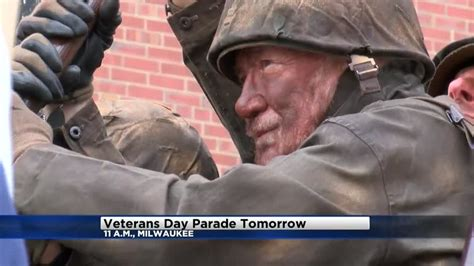cbs 58 veterans give blood 54th annual veterans day parade in milwaukee saturday