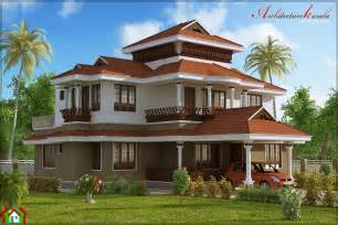 Traditional House 4 Bed Room Traditional Style House Architecture Kerala