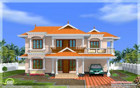 home design models free september 2012 kerala home design and floor plans
