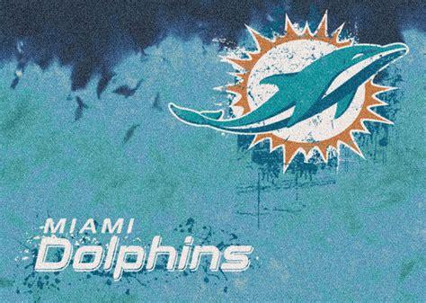 miami dolphins rug nfl logo rugs football team mats sports rugs