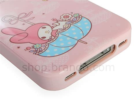 Bumper Melody For Iphone 4 4s by Iphone 4 4s My Melody With Umbrella Soft Back