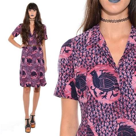Baju Tribal baju tribal dress details about vintage 50s 60s batik