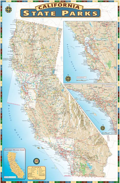 state parks in map california state parks maps solutions
