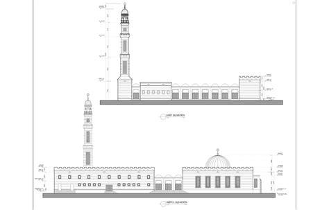 design masjid autocad architecture drawings by mohammed asim baig at coroflot com