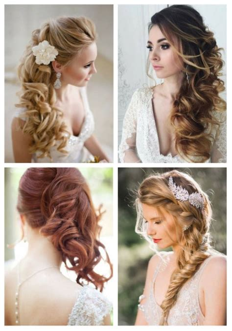 hairstyles to the side for bridesmaids bridesmaid hairstyles side swept www pixshark com