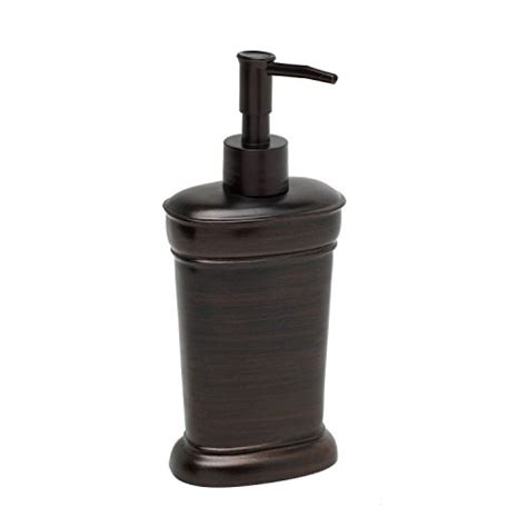 oil rubbed bronze bathroom soap dispenser zenna home india ink marion lotion or soap dispenser oil rubbed bronze new ebay