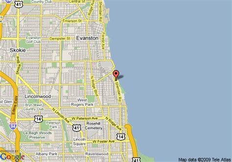 loyola chicago map map of 8 motel chicago loyola chicago