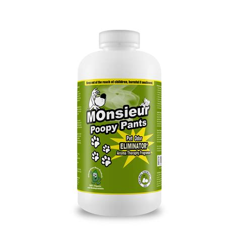 Mold On Car Carpet by Monsieur Poopy Pants Natural Pet Odor Remover 3 Oz