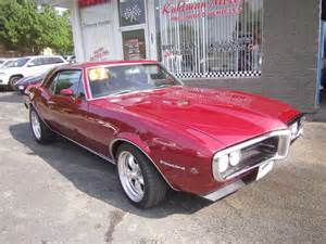 1967 Pontiac Firebird For Sale 1967 To 1968 Pontiac Firebirds Firebird For Sale Used On