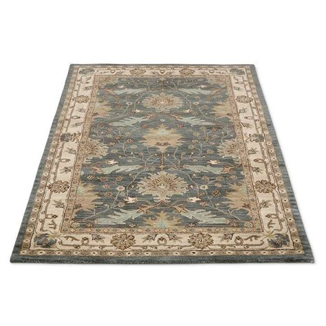 suffolk indoor area rug front entryway
