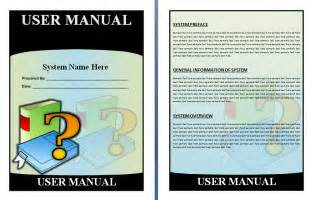 users manual template free manual templates user manuals manuals
