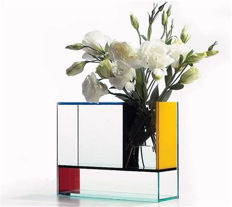mondrian vase 15 unique flower vase designs