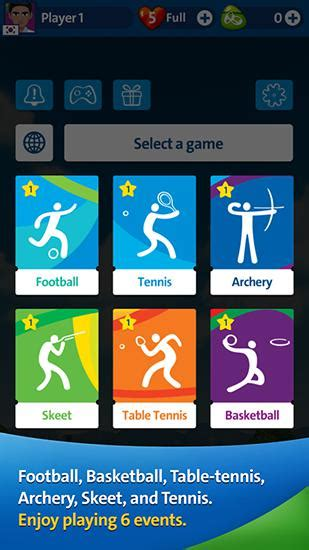 download free full version games for android phone rio 2016 olympic games official mobile game for android