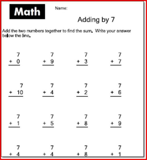 Math Facts Worksheets 2nd Grade by 2nd Grade Subtraction Facts Worksheets Free Single Digit