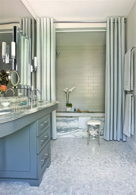 kitchen next to bathroom inspired croscill shower curtains in bathroom modern with