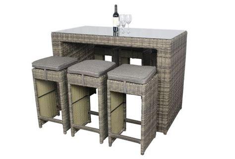 bartisch set f 252 r garten oder terrasse outspot