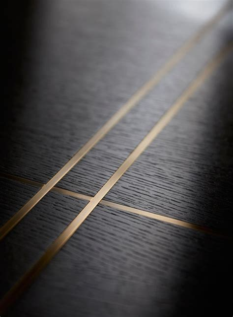 brass inlay  joinery helen green furniture design floor design furniture design flooring